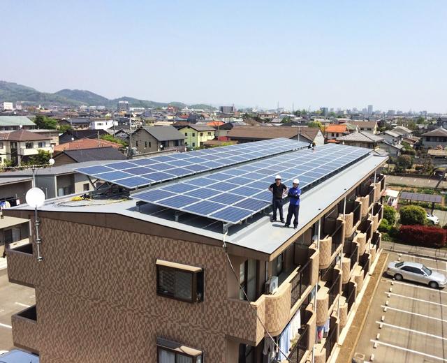 太陽光発電-群馬県太田市4
