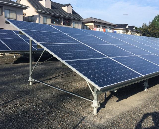 太陽光発電-群馬県太田市1