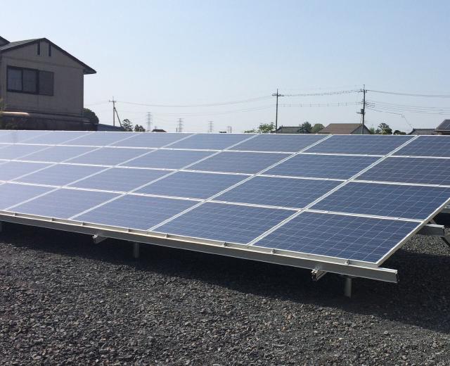 太陽光発電-群馬県太田市2