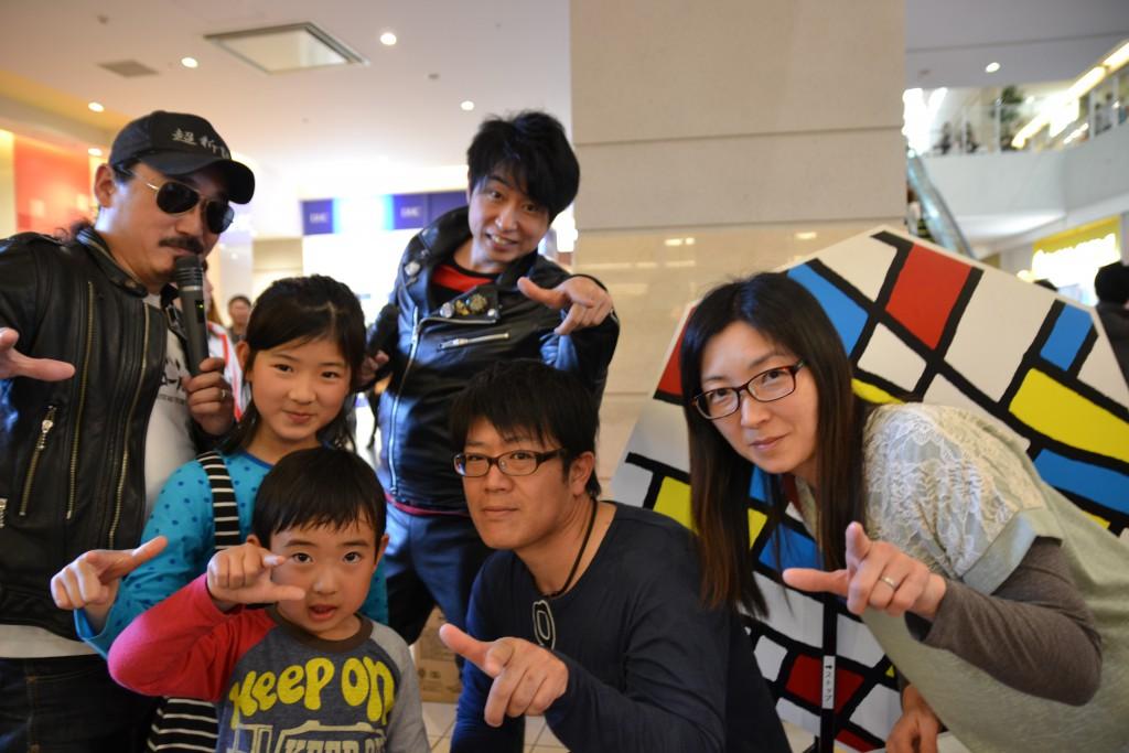 ワイモバイルスマーク伊勢崎に超新塾さんが来てくれました_10
