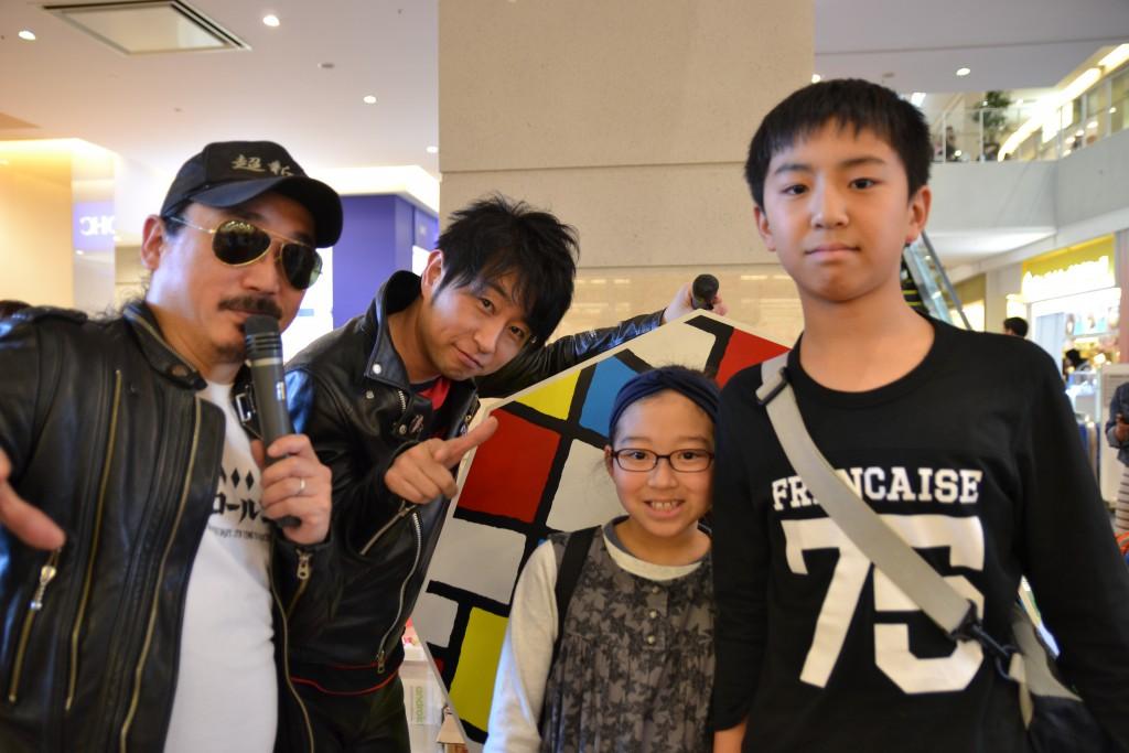 ワイモバイルスマーク伊勢崎に超新塾さんが来てくれました_7