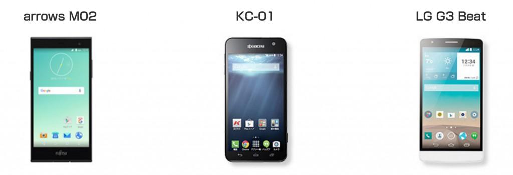 「UQ mobile」の人気機種